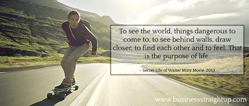 Secret Life Of Walter Mitty Quotes Captivating Photographer Business Help  Spirit Movie & Purpose  Business